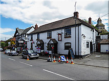 SO3958 : Red Lion Public House, Pembridge, Herefordshire by Christine Matthews