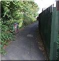 ST3090 : Graffiti on a Virgin Media box in Pilton Vale, Newport by Jaggery