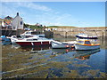 NT9167 : Coastal Berwickshire : Small Craft At St Abbs Harbour by Richard West
