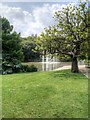 SP3265 : Jephson Gardens, Lake and Fountains by David Dixon