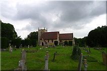 SK8354 : Church of All Saints, Coddington by Tim Heaton