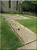 NY9650 : Remnants of Blanchland Abbey by Pauline E