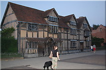 SP2055 : Evening at Shakespeare's birthplace by Trevor Harris