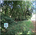 SP8909 : West Entrance to Dancersend Nature Reserve by Chris Reynolds