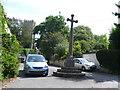 SY3995 : Whitchurch Canonicorum Village Cross by Nigel Mykura