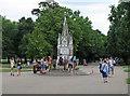 TQ2883 :  Ready Money drinking fountain, Regent's Park by Free Man