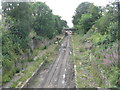 NT3266 : Bonnyrigg Road crosses the Borders Railway by M J Richardson