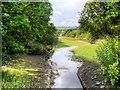 SD8941 : Channel into Lower Foulridge Reservoir by David Dixon