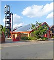 TQ2595 : Barnet Fire Station by Julian Osley