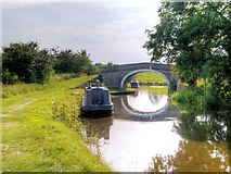 SD9050 : Leeds and Liverpool Canal, Old Hall Bridge by David Dixon