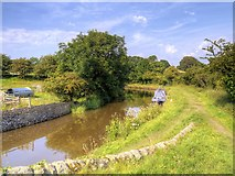SD9050 : Leeds and Liverpool Canal near East Marton by David Dixon
