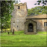 SD9050 : East Marton, St Peter's Church by David Dixon