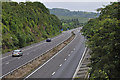 SO6225 : Western end of the M50  by Stuart Wilding