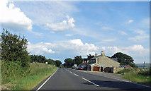 NZ0451 : Carterway Heads crossroads by Pauline E