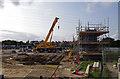 SD4663 : Bridge construction, Torrisholme Road by Ian Taylor