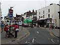 SO7193 : No Entry to High Street from the south in Bridgnorth by Jaggery