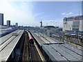 TQ3884 : Stratford station facing south west by Richard Hoare