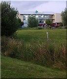 SK4625 : Donington Park Services by Paul Harrop