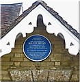 SP9729 : Commemorative plaque, Milton Bryan village hall by Julian Osley