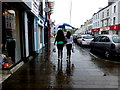 H4572 : A wet day, Omagh by Kenneth  Allen