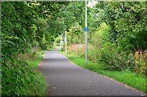 NT2875 : Cycleway and footpath, Seafield by Jim Barton