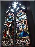 TQ2678 : Saint Mary The Boltons: stained glass window (b) by Basher Eyre