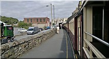 SH4862 : The train now standing at Caernarfon Platform 1 by Chris Morgan