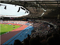 NS5961 : South Stand, Hampden Park, Commonwealth Games 2014 by Rich Tea