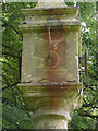 SK7565 : Sundial in Ossington churchyard by Alan Murray-Rust