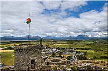 SH5831 : Harlech Castle by Mike Searle