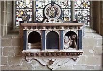 SJ3454 : All Saints Church, Gresford - Trevor monument by Mike Searle