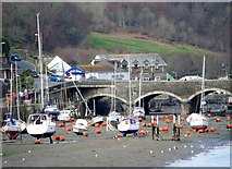 SX2553 : Road bridge, Looe by nick macneill