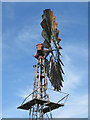SE7043 : Creaking, rusting wind pump by Pauline E