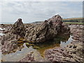 SX5148 : Blackstone Rocks and rock pools by Debbie J