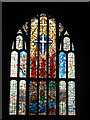 TQ3866 : St Francis church: new east window by Stephen Craven