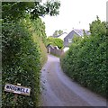 SX8466 : Approaching Wrigwell from the north by Robin Stott