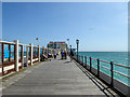 TQ1502 : The Pier, Worthing, Sussex by Christine Matthews