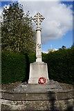 SE5947 : War Memorial at Bishopthorpe near York by Ian S