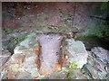 SN6895 : Furnace hearth, Dyfi Furnace by Rob Farrow