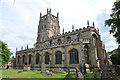 SP1501 : St Mary's church, Fairford by Julian P Guffogg