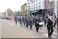 SP9211 : The Band leads the Procession down Tring High Street to the Memorial Garden by Chris Reynolds