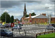 SO9098 : New Sainsbury's Car Park, Wolverhampton by Roger  Kidd