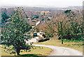 SP0734 : Stanton: North Cotswold view westward, 1995 by Ben Brooksbank