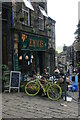 SE0337 : Yellow bikes promoting 'Le Grand Départ': Haworth by Graham Hogg
