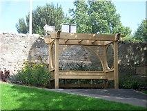 NT9953 : New Pergola in Coronation Park by Graham Robson