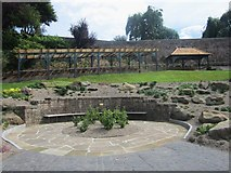 NT9953 : Seating area in Castle Vale Park by Graham Robson