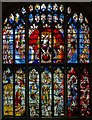 SP1501 : Great West Window, St Mary's church, Fairford by Julian P Guffogg