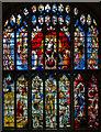 SP1501 : Great West Window, St Mary's church, Fairford by Julian P Guffogg