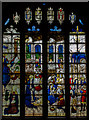 SP1501 : Stained glass window, n.III, St Mary's church, Fairford by Julian P Guffogg