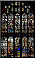 SP1501 : East Window, St Mary's church, Fairford by Julian P Guffogg
